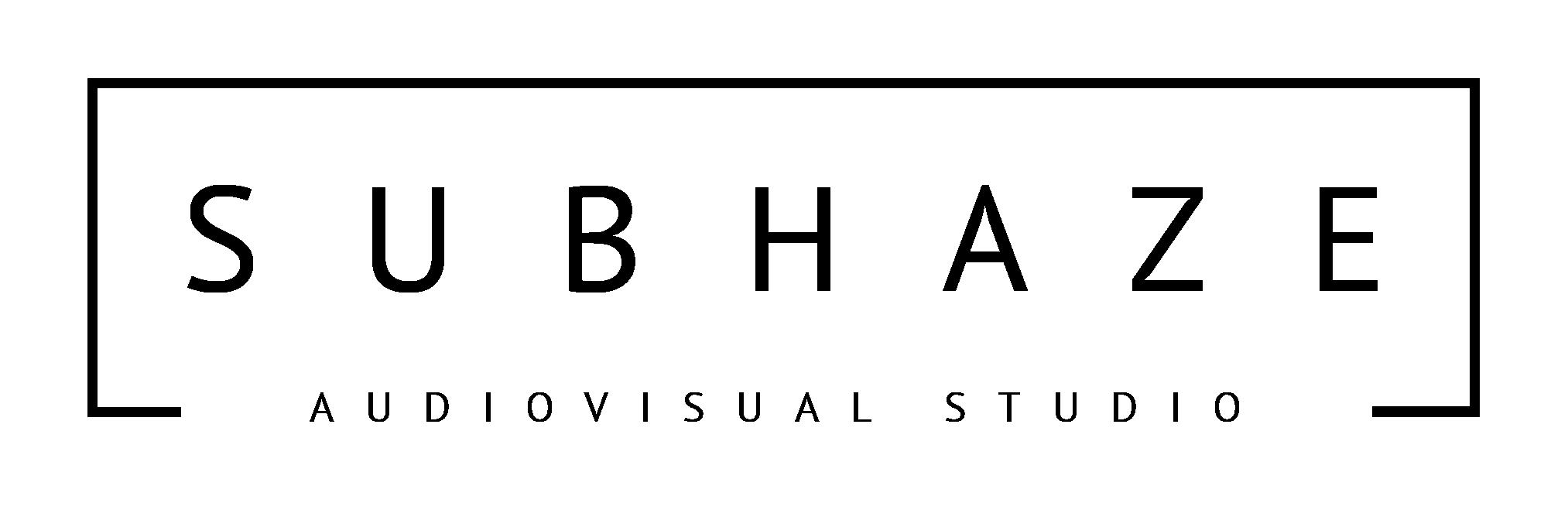 SUBHAZE STUDIO Logo
